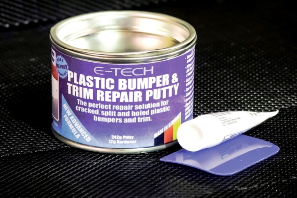 Plastic Bumper & Trim Repair Putty